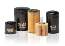 Gold NAPA Oil Filters