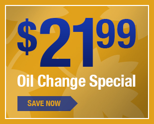 $22 Oil Change Special